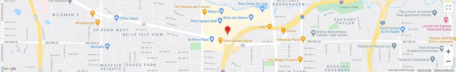 Oklahoma City, OK Google Maps Desktop