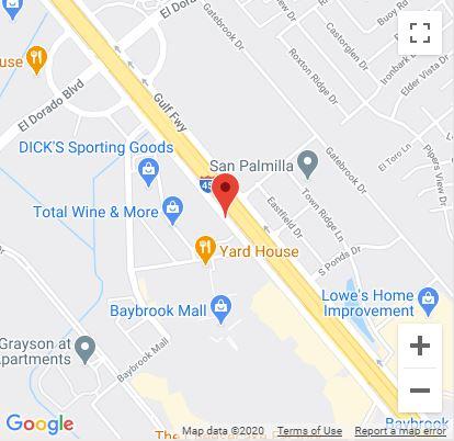 Baybrook, TX Google Maps Mobile
