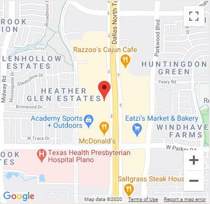 Plano, TX Google Maps Mobile