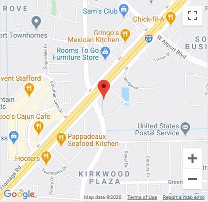 Stafford, TX Google Maps Mobile